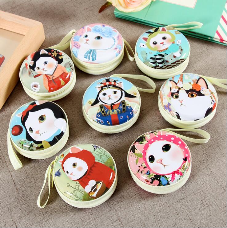 Women Kawaii Jetoy Mini Bag CartoonJetoy Choo Cat Coin Purse kids Girls Wallet Earphone Box Bags Wedding Gift Christmas Gift(China (Mainland))