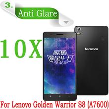 10X 4G LTE smartphone Lenovo Golden Warrior S8 Screen Protector Anti-glare Matte Screen Film Lenovo S8 A7600 Screen Guard Film