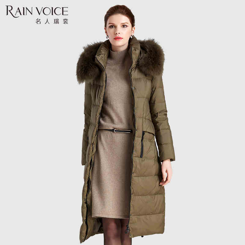 2015 new Hot winter Thicken Warm Woman Down jacket Coat Parkas Outerwear Hooded fox Fur collar Luxury long plus size 3XXXL Cold Одежда и ак�е��уары<br><br><br>Aliexpress