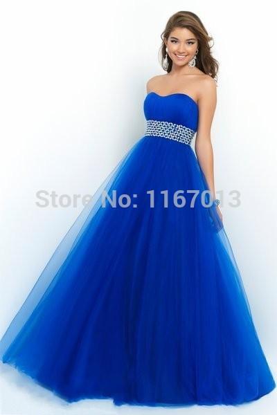 Prom dresses poofy long