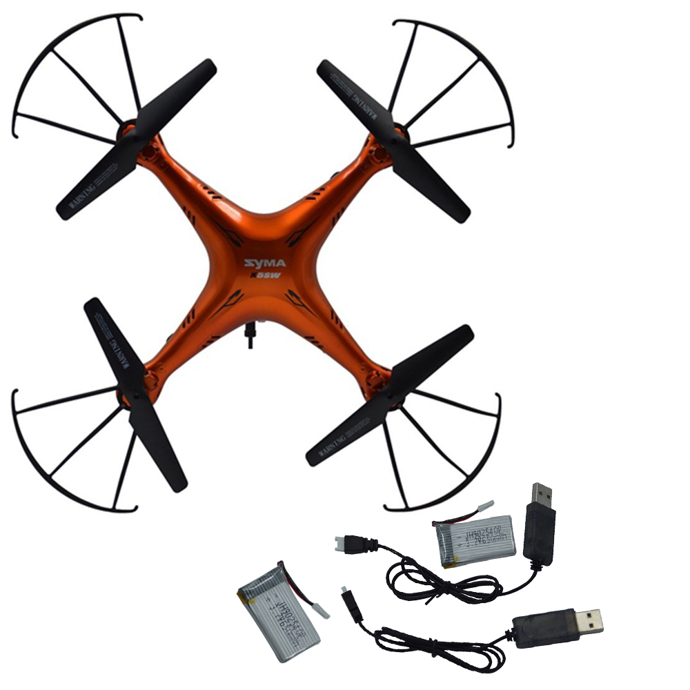 SYMA X5SW X5SW-1 WIFI RC Drone FPV Quadcopter 2.0MP 2.4G 6-Axis Real Time Helicopter Quad copter Toys 2 extra battery+2 cable(China (Mainland))