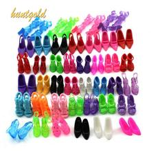 40 Pair Different Styles High Heel Sandals Shoes Boots For Doll Princess(China (Mainland))