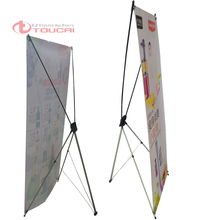 10pcs/lot wholesale Advertising Display Stand For Promotion Exhibition Trade Show Booth 0.8*1.8M X Banner(China (Mainland))