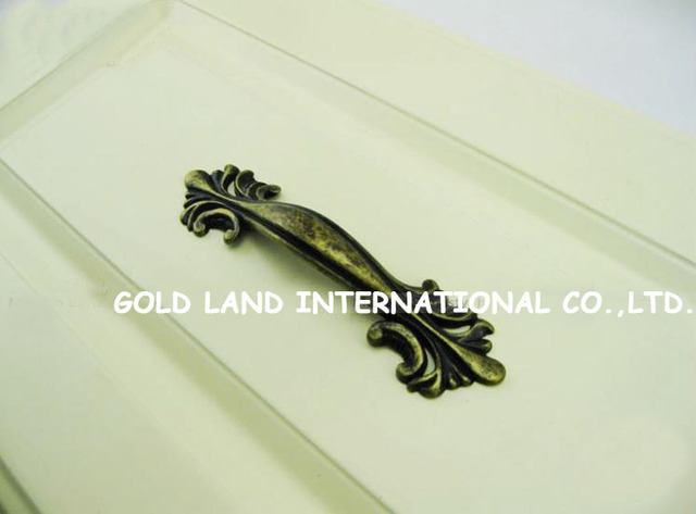 64mm Free shipping bronze-color zinc alloy coat cabinet drawer handle furniture door handles