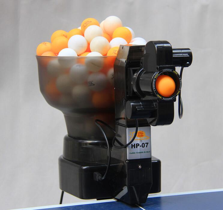 Professional Portable High quality 36 spin Table Tennis Robot / Ping Pong Robot EMS Free Shipping(China (Mainland))