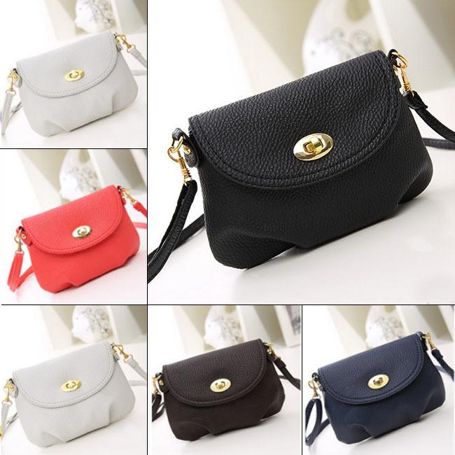 Women Girls Shopper Handbag Dumplings Tote Shoulder Diagonal Package PU Bag(China (Mainland))