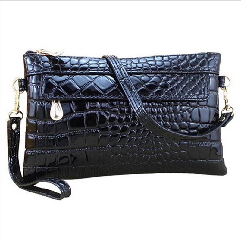 Low price Sell!real Leather wallet fashion women messenger bags High quality women bag and Women clutch crocodile leather Tote(China (Mainland))