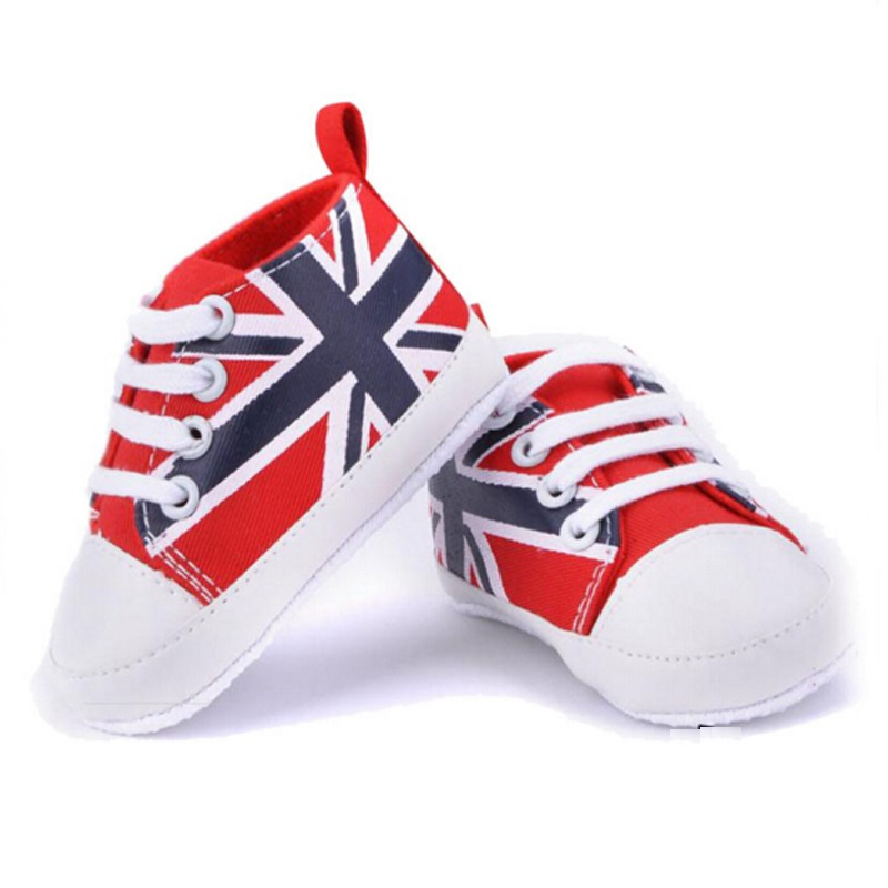 Baby Spring Shoes for Infant Boys Girls Shoes England Canvas Sneaker Bebe Moccasins First walking Shoes Canvas for Girls LH036(China (Mainland))