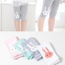 2-9Y 2016 Knee Length Leggings Candy Color Pants Children Clothes Girls Animal Print Leggings Baby Girl Cotton Pants