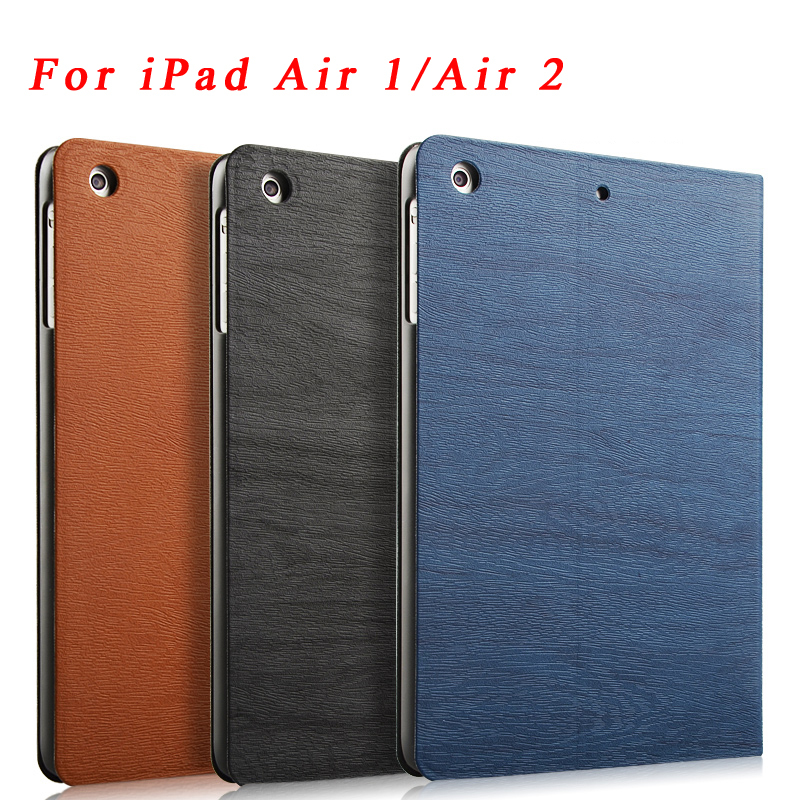 Hot sale Ultra Slim Magnetic PU Leather Smart Flip Stand Cover Case For Apple iPad Air/Air 2 Wake Up/Sleep Function for iPad 5/6(China (Mainland))