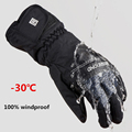2016 new HOT 30 degree unisex warm snowboard gloves for winter men snow windproof guante nieve