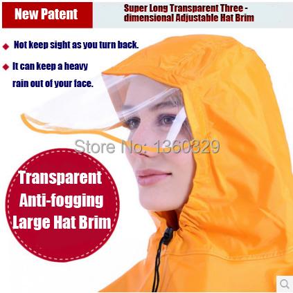 Plus Size font b burberry b font men Womens Long Raincoats Yellow Red Blue Poncho Transparent