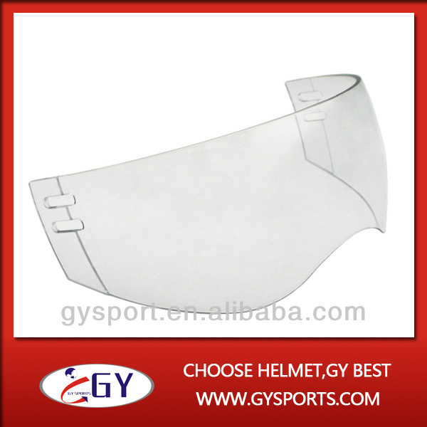 hot sale Patent Protective Gear, Safety clear Hockey visors for ice hockey helmets free shipping(China (Mainland))