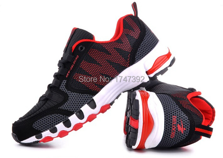 2015 New Fashion Brand Autumn Summer Breathable Sport Shoes Running Mens Sneakers Athletic Footwear Big Size:40-48 - Sports Jersey Club store