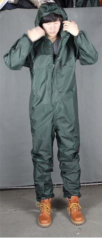 Fashion motorcycle raincoat Conjoined raincoatoveralls men and women fission rain suit2