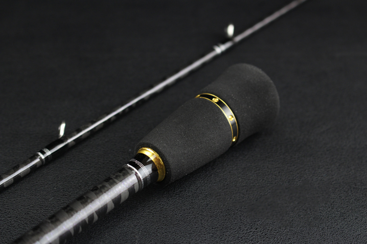 1.95m 6\'3\'\' Light Slow Jigging Casting Lure Carbon Sea Fishing Rod Fish Pole Cane (20-180g, Fast Action) Fuji Fishing Pole Japan  (12)