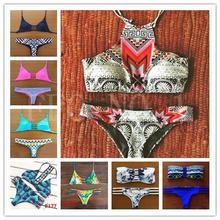 2015 Triangl Swimwear Bikini Neoprene Swimsuits Bathing Suit Push Up Bikini Brazilian Vintage Maillot De Bain