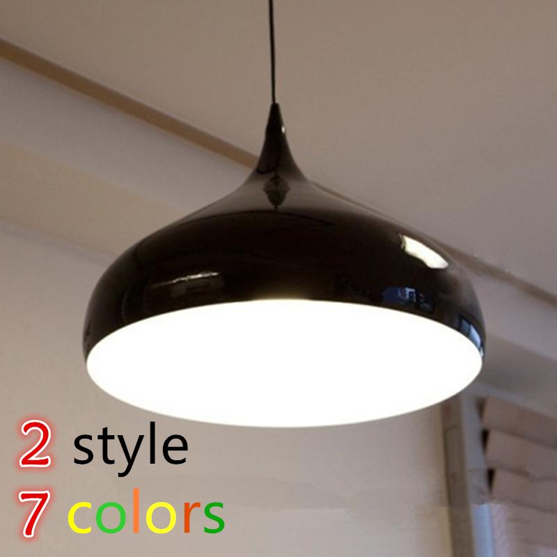 Factory direct modern simple aluminum pendant light hanging room restaurant lamp little fresh style Home decoration restaurant(China (Mainland))