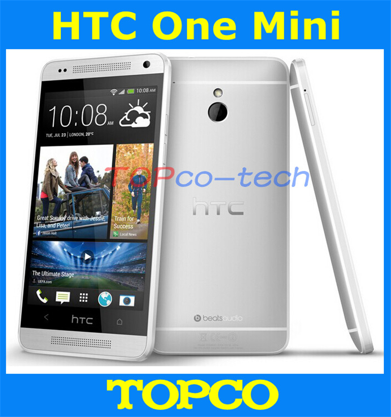 "Original HTC One Mini Unlocked GSM 3G&4G Android Dual Core Mobile Phone 4.3"" WIFI GPS 4MP 16GB ROM HTC 601e dropshipping(China (Mainland))"
