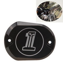 SF Free Shipping Front Brake Master Cylinder Fluid Reservoir Cover For Harley Davidson XL883 1200(China (Mainland))