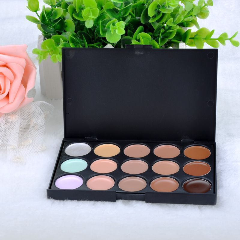 Camouflage Contouring Concealer Palette 15 Makeup Colors Makeup(China (Mainland))