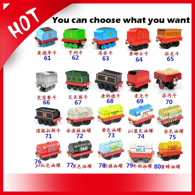 Childrens love 100% Original Thomas & Friends diecast metal train Models for different quantity order you need(China (Mainland))