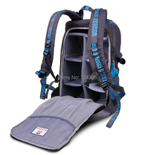 Buy Professional DSLR camera Backpack Travel digital slr photo video bag/case waterproof Canon 5D 6D 7D Nikon D1 D70 sony/pentax for $43.50 in AliExpress store
