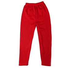 2 8 Years Winter Baby Girls Leggings Solid Casual Thick Pencil Pants for Kids Clothing Cotton