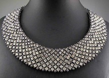 Newest Gorgeous Fashion Necklace Jewelry crystal Department Statement Necklace Women Choker Necklaces & Pendants Q617(China (Mainland))