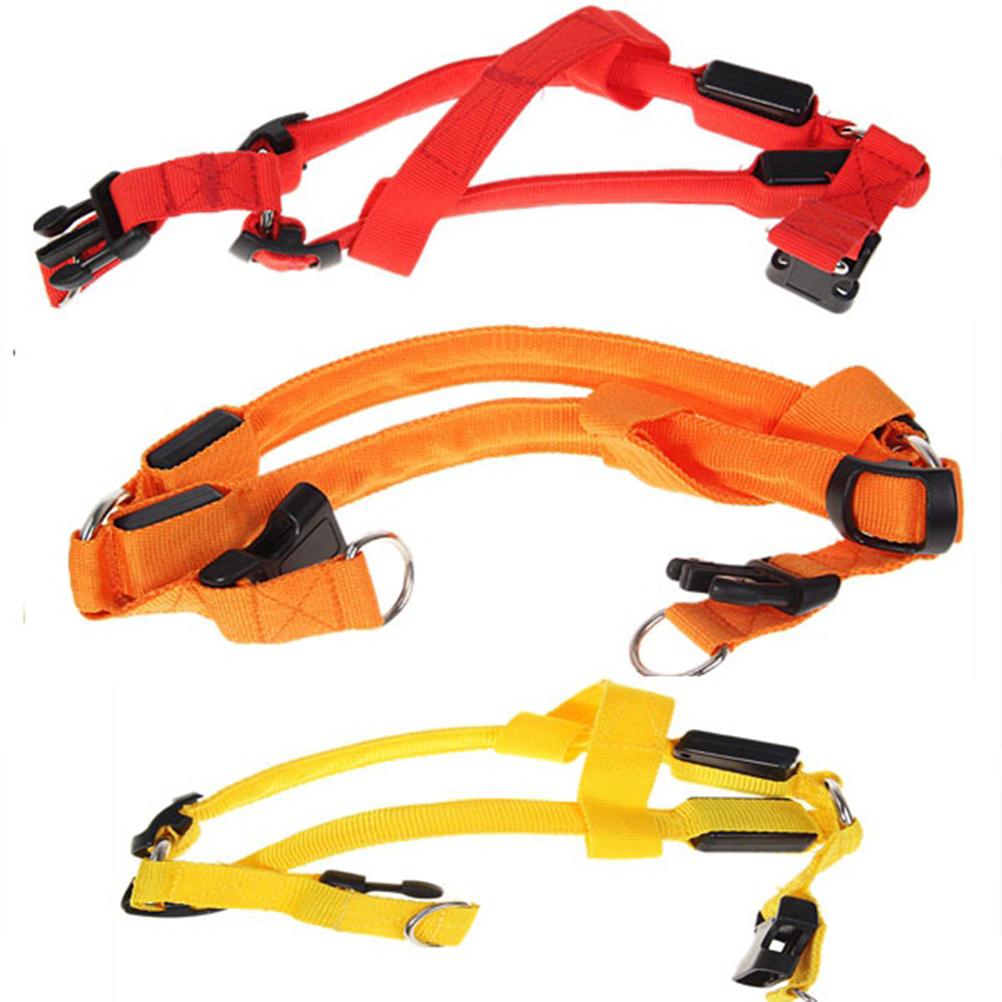 Fashion LED Flashing Pet Harness Visible Led Light LED Flashing Light Band Belt Safety Pet Dog Collar(China (Mainland))