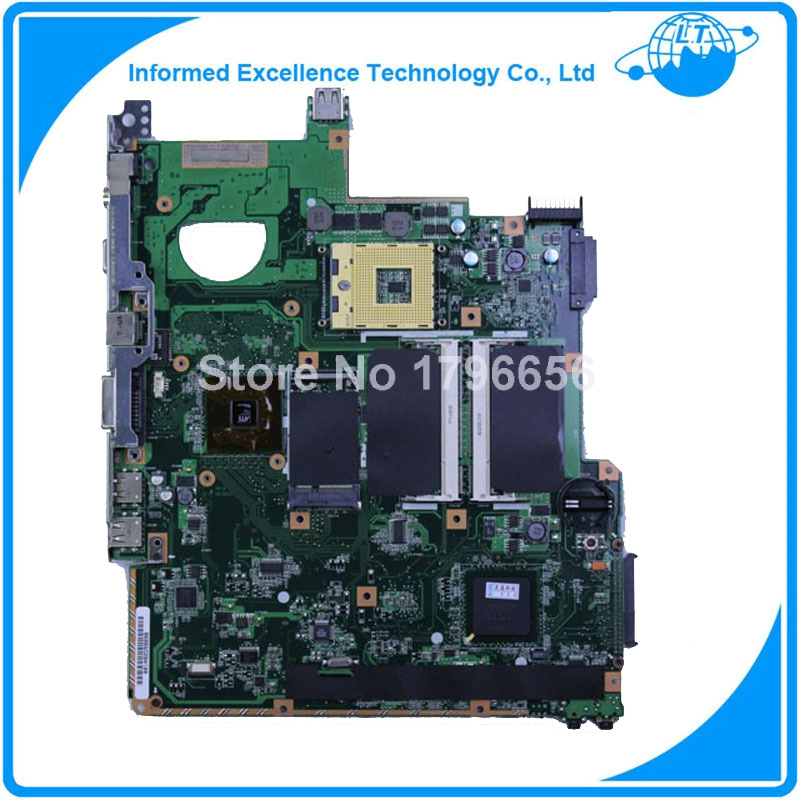 For ASUS F2J Laptop Motherboard F2J mainboard full tested before shipping(China (Mainland))