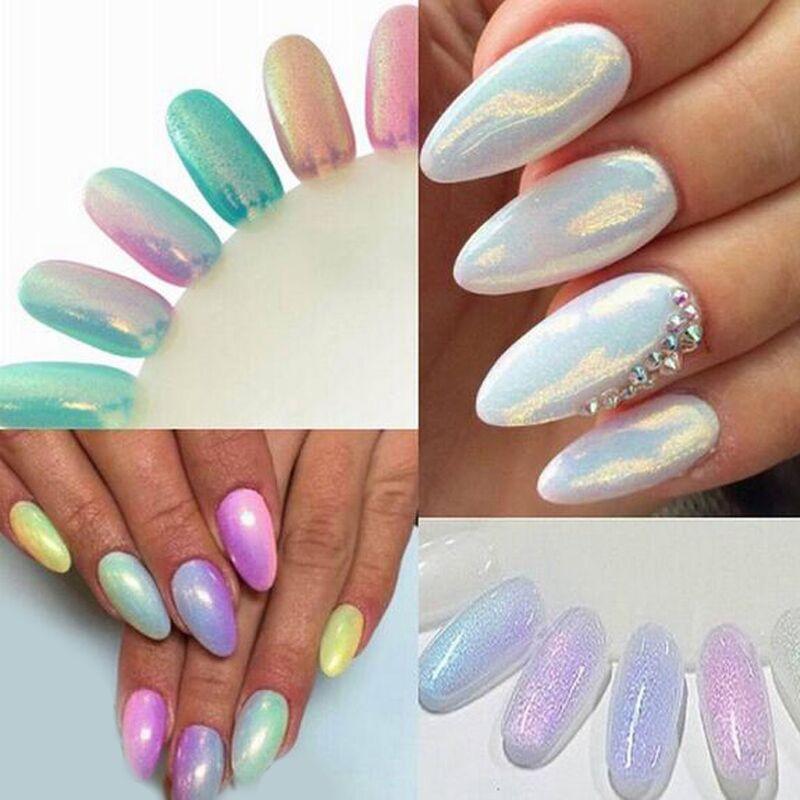 Nail Glitter Polish Sparkly Dust Powder Diy Nail Art Tip Decoration Gel UV Nail Tools NA1034(China (Mainland))