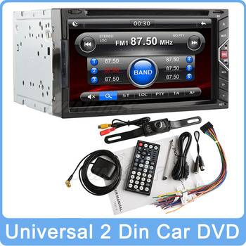 """2015 Newest Universal 7"""" HD Gesture Control In Dash 2 Din Stereo Auto Car DVD Player GPS Navigation Audio Bluetooth Radio SD"""