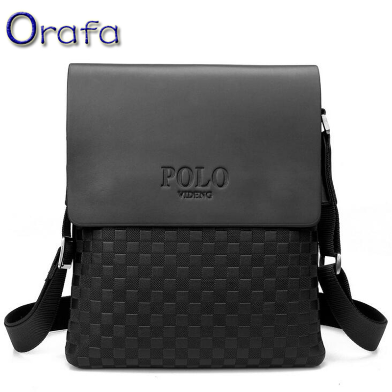 2016 Polo men messenger bag crossbody bags for men small luxury brand men's travel shoulder bags designer handbags high quality(China (Mainland))