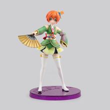 Anime Love Live! School idol Project Rin Hoshizora Cute Girl PVC Action Figure Resin Collection Model Toy Gifts Cosplay KB0646