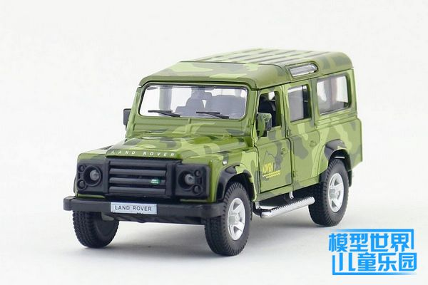 1PC 12.5cm Yu feng alloy simulation model car toys 1:36 adventure Defender children gifts(China (Mainland))