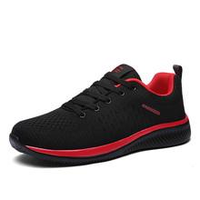 2019 2018 neue Mesh Männer Casual Schuhe Lac-up Männer Schuhe Leichte Komfortable Atmungsaktive Wanderschuhe Turnschuhe Tenis Feminino Zapatos(China)