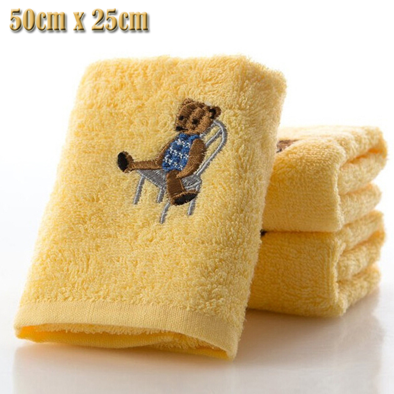 100% cotton Authentic sweet candy colored Absorbent Dry Towel baby towel super soft coral fleece kid child towel wipe sweat(China (Mainland))