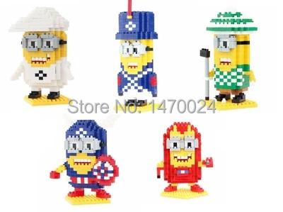 Детское лего QCF Pegman /diy 9525-9529 детское лего cogo 3259 360 diy
