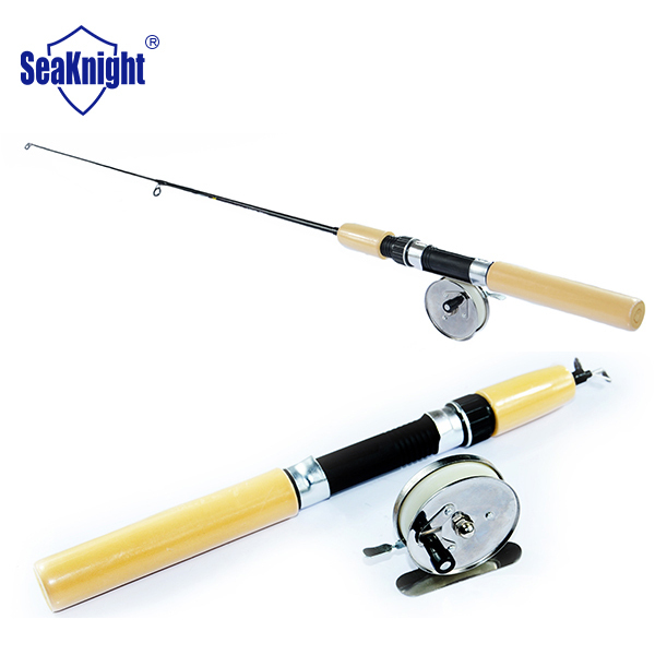 Tri poseidon brand 55 65 75cm ice fishing rod with metal for Fishing pole brands