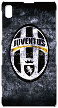 Retail Juventus Logo Cell Phone Case For Sony Xperia Z Z1 Z2 Z3 Z4 Z5 Compact Mini E4 M C1904 C1905 M2 M5 C3 C4 SP M35h Cover