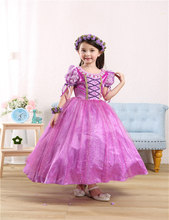 kids girl formal dress sophia  ball gown princess dresses for girls cosplay costumes summer style 2016 new arrival full dress