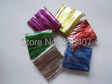 100 pcs * 5 bags Package Twist Ties Packaging Bag Sealing Rope Bread / Candy Tie Wire(China (Mainland))
