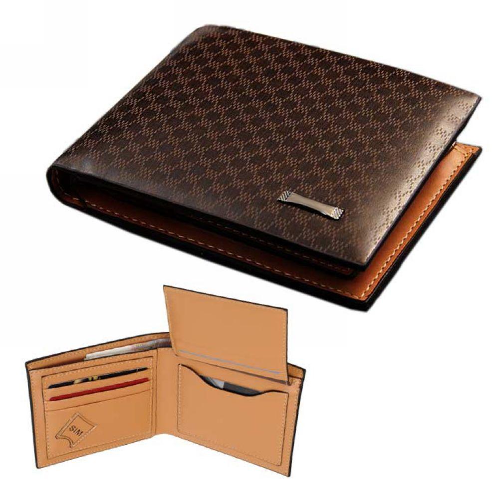2015 New Men wallets Coin zipper Pocket fashion short Design men\'s wallet Leather Wallet F20M096#Y6(China (Mainland))