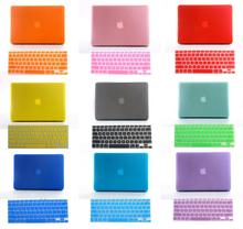"""freeship 2in1 Christmas gift Crystal Matte hard cover case for 11"""" 13"""" 15"""" macbook air pro retina + Russia Russian keyboard skin(China (Mainland))"""