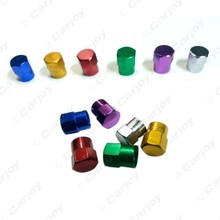 40PCS Car Motorcycle Metal Tire Valve Stem Covers Caps 6 Colors Gold,blue,red,silver,green,purple #CA5482(China (Mainland))