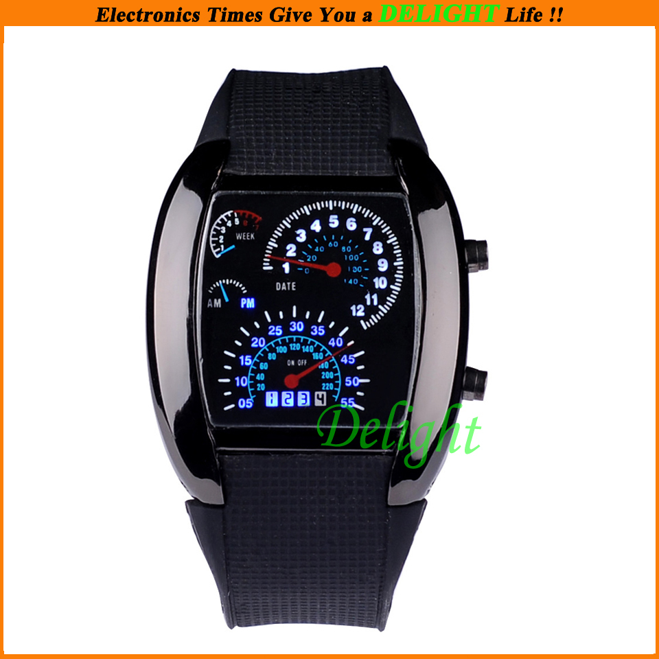 Promotion! Cheap Fashion Casual Led Digital Quartz Watch Kids Students Boys Girls Handfree Wrist Watches (DL-W029) - Delight Technology Co., Ltd. store