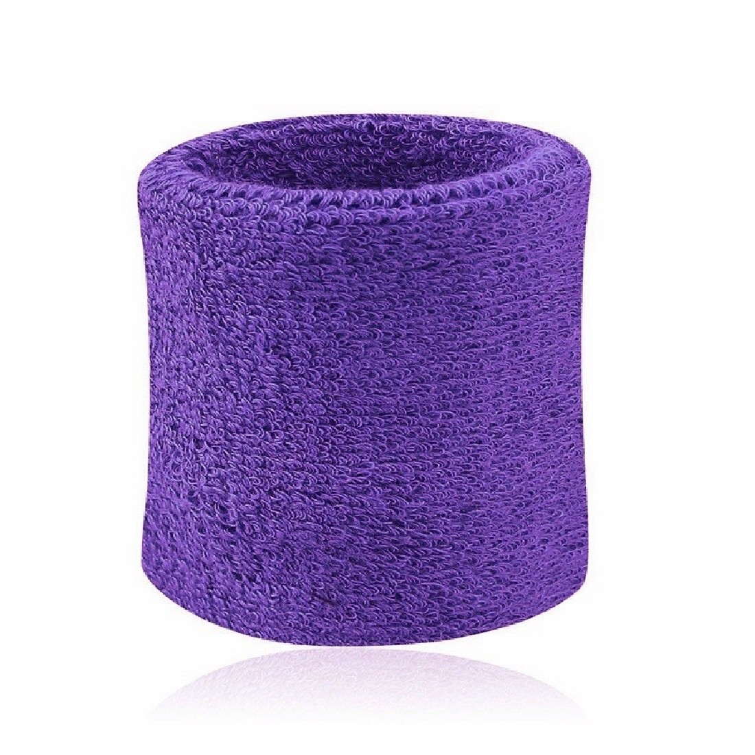 Men & Women Sports Sweatband Tennis Squash Badminton Terry Cloth Wrist Sweat Bands Basketball Gym Wristband Wrist Wraps