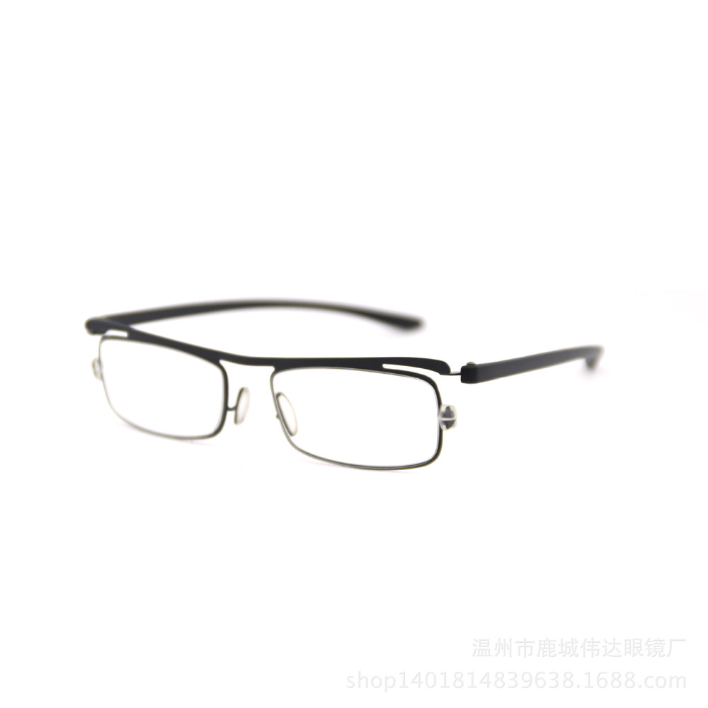 Wenzhou glasses factory direct wholesale metal reading glasses reading glasses old steel frames(China (Mainland))