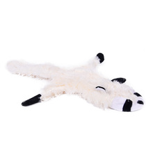 New Design Pet Sound Toy Cat Dog Plush Cute Playing Product Shape Rabbit Leopard Cat Coon Funny Toy For Puppy Free Shipping